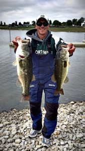 Andrew Nordbye with Tournament Fish